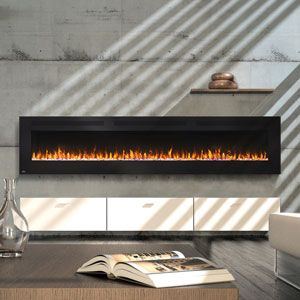 Napoleon 100 Inch Allure Wall Mount Electric Fireplace Nefl100fh