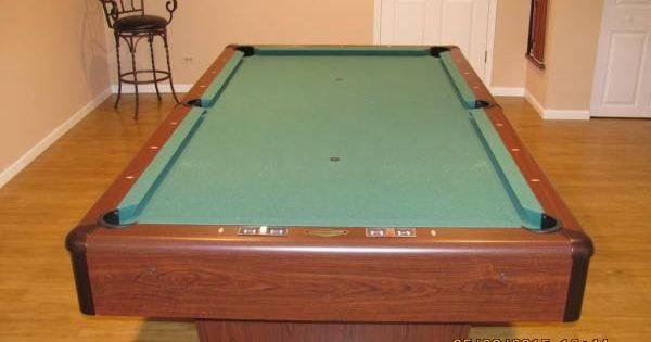 C l bailey billiards 7 39 addison pool table 3 piece 1 for 1 piece slate pool table