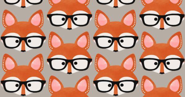 Too Cute Fox Cream Fabric By Natitys On Spoonflower