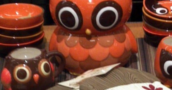 Owl Kitchen Collection Need This For The Home