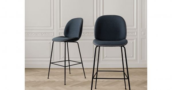 Gubi Beetle Counter Chair Textile Upholstery Upholstered Bar Stools Bar Chairs Design Gubi Beetle Chair