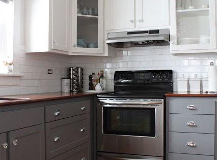 Two Tone Kitchen Cabinet Ideas Kitchens Kitchen Paint