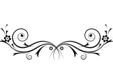 Flourishes Decorations Black Curly Flourishes Swirls Clipart 10086 Meylah Clip Art Flourish Swirls