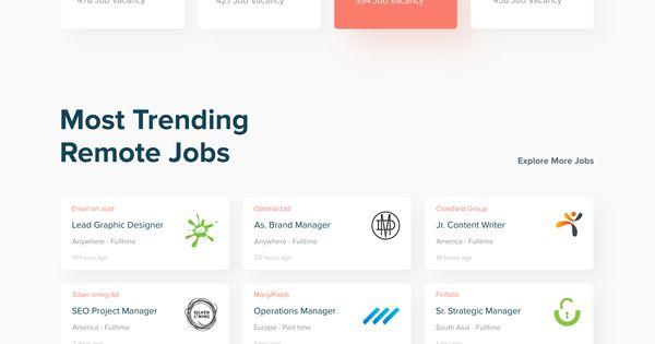 Remote Job Finder Web Exploration Exploration Finder Job Remote Web Webdesignportfoliodevelo Web Layout Design Mobile Web Design Portfolio Web Design