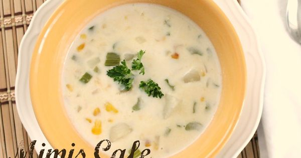 "COPYCAT MIMIS CAFE CORN CHOWDER RECIPE: ~ From: ""All Free Copycat Recipes.Com"""