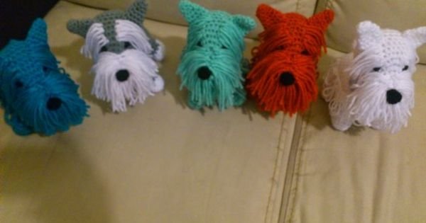 Free Crochet Yorkie Dog Pattern With Video Tutorial ...