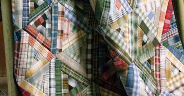 plaid quilt