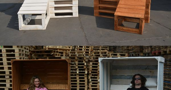 berdachter strandkorb aus paletten bauanleitung pinterest g rten str nde und weiden. Black Bedroom Furniture Sets. Home Design Ideas