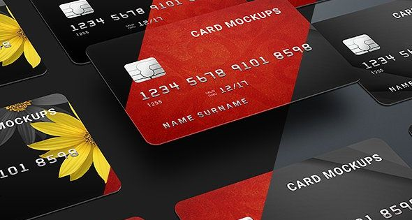 7 Credit Card Mock Ups Bank Smart Mockups High Resosultion