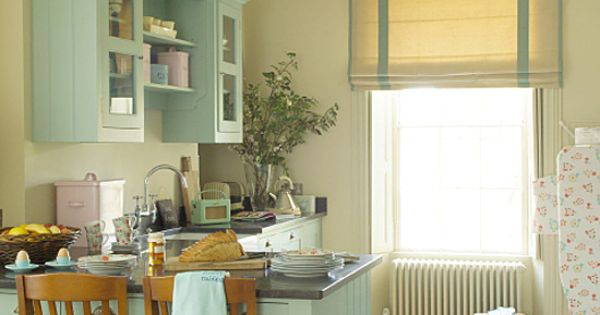 Quirky Kitchen Kitchens And Light Teal On Pinterest