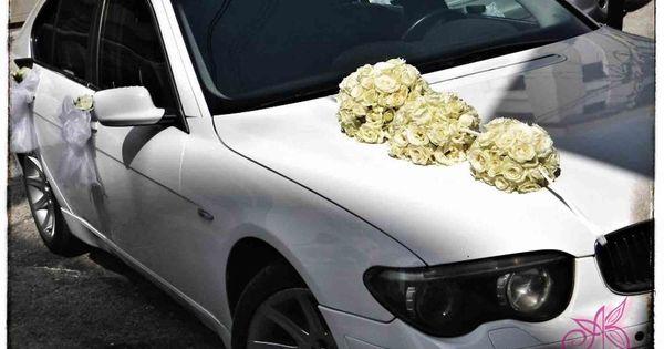Wedding Car Decoration .. Décoration voiture de Mariage  Mariage ...