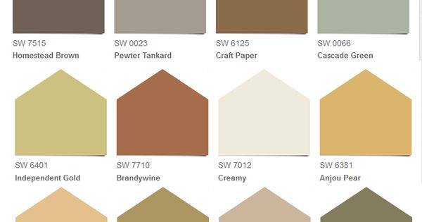 Sherwin williams rustic refined collection for Rustic paint colors from sherwin williams