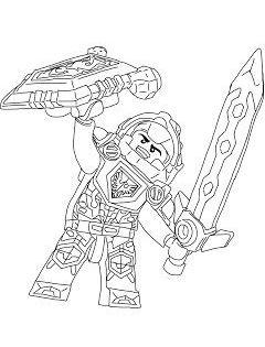 Nexo Knights Ausmalbilder Ausmalbilder Kostenlose Ausmalbilder Superhelden Malvorlagen