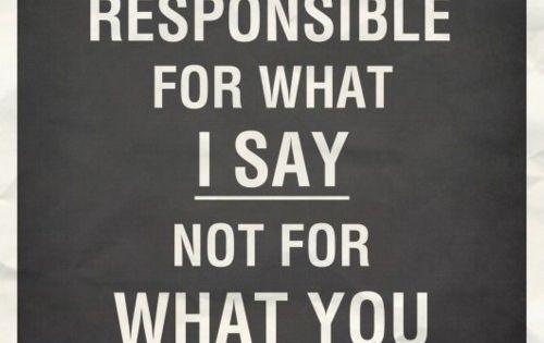 my responsility