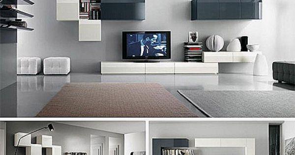 Muebles para salones peque os modernos http - Salones modernos pequenos ...