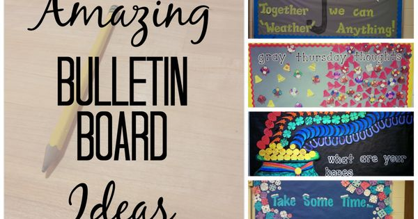 10 Amazing Bulletin Board Ideas For High School This