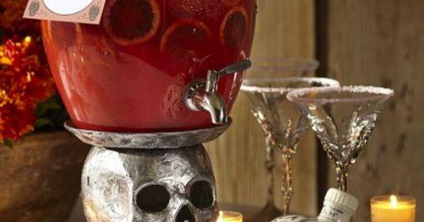 Skull Drink Dispenser Stand 166 Shop Pottery Barn