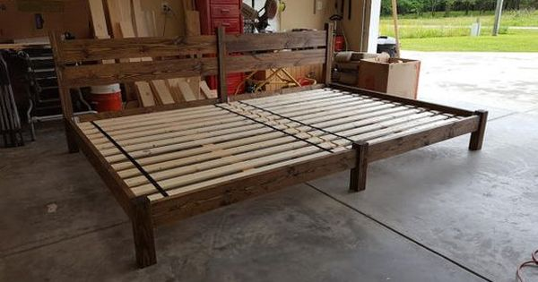 Family Bed Extra Large Bed Platform Bed Bed With By Peacelovewood