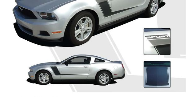 Muscle Car Decals >> Mustang LAUNCH : 2010-2013 Ford Mustang Vinyl Graphics Kit ...