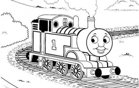Coloring Pages Thomas The Train Coloringpageskid Com Train Coloring Pages Cars Coloring Pages Train Drawing