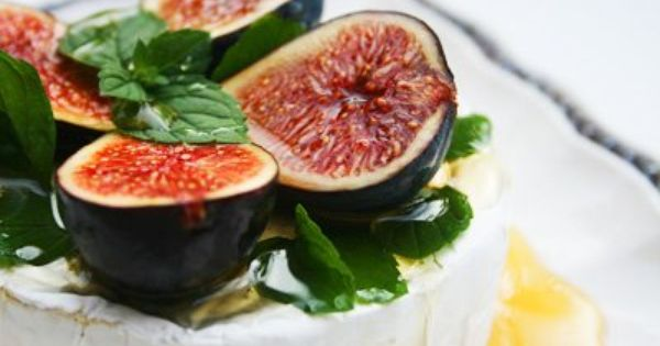 Fresh Figs with Brie | Yummy Bites | Pinterest | Fresh Figs, Figs and ...