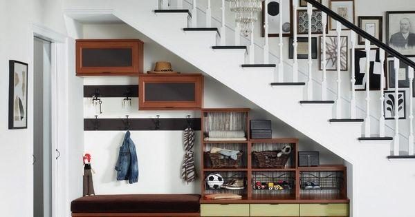 Rangement sous escalier et idées daménagement alternatif  Design ...