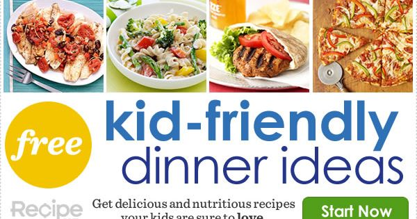 kid friendly meals kids stuff