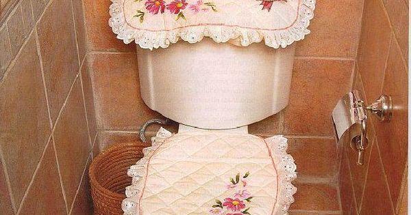 decoracion para baño en tela - Buscar con Google  baños ...