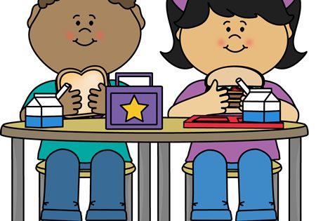 Kids Eating Lunch Kids Clipart Clip Art School Clipart