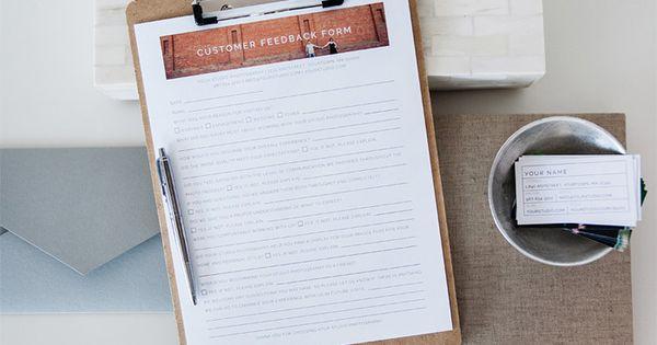 Customer Feedback Form - customer feedback form