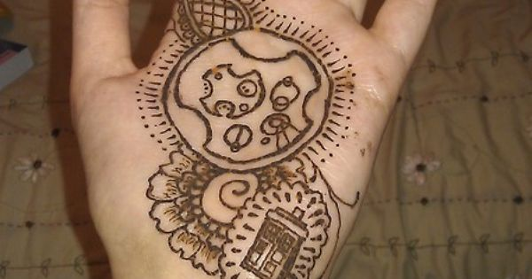 Mehndi For Doctors : Doctor who henna idea the final touch pinterest