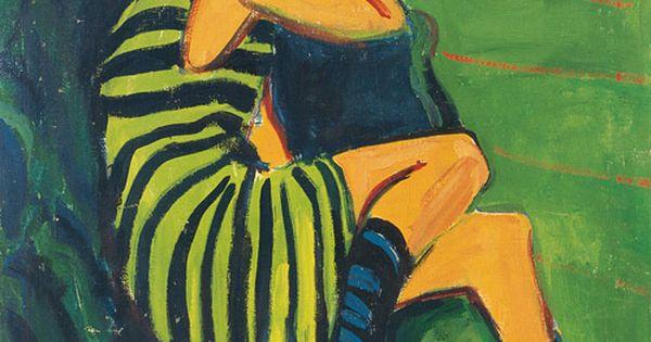 Ernst Ludwig Kirchner, Artistin Marcella, 1910 | Living ...