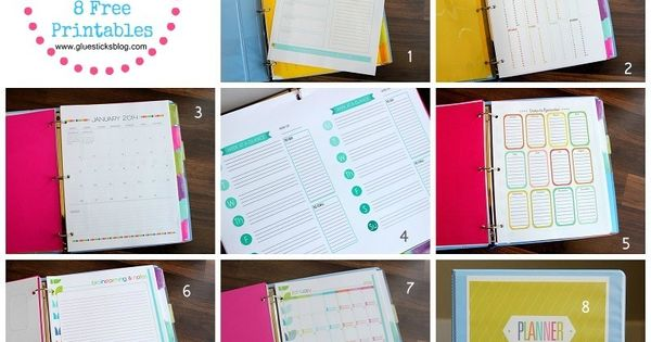 2014 Day Planner With Free Printables To Make Your Own
