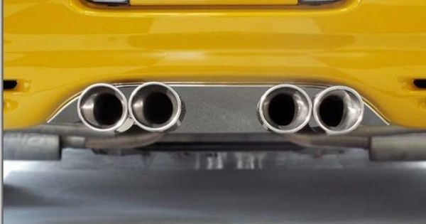 Exhaust Port Filler Panel For C5 And Z06 With Corsa Quad Tip Exhaust Paneling Quad Exhausted