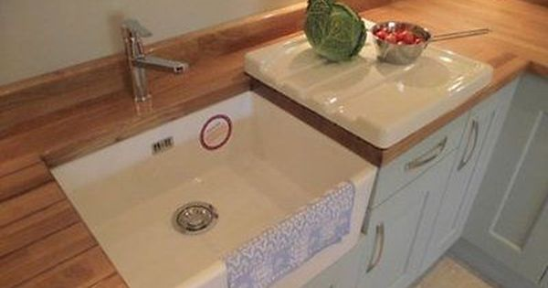Baby Belfast Butler White Ceramic Sink New With Chrome Waste And Overflow Kit In Home Furniture Ceramic Kitchen White Ceramic Kitchen Sink Diy Kitchen Remodel
