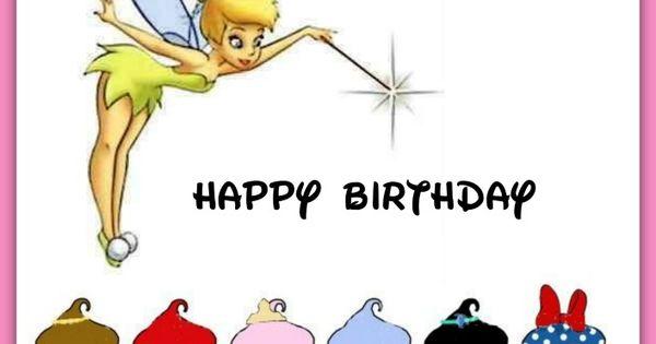 Pin By Hanna Kropkowska On Happy Birthday: Happy Birthday Disney-style