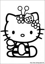 Hello Kitty Coloring Pages On Coloring Book Info Hello Kitty Colouring Pages Hello Kitty Drawing Kitty Coloring