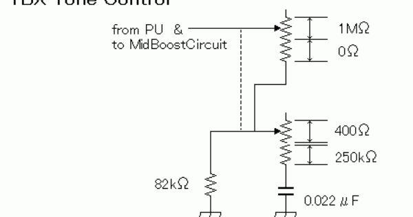 Tbx Tone Control With Images Guitar Amp Circuit Tones
