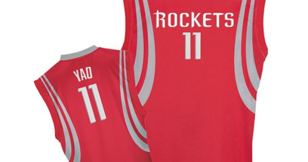 ... where to buy authentic adidas houston rockets 11 yao ming red road men  nba stitched jersey f2bfc0912