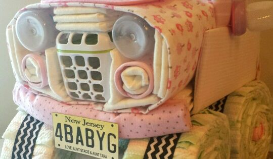 Diaper Jeep | Baby girl shower | Pinterest | Diapers ...