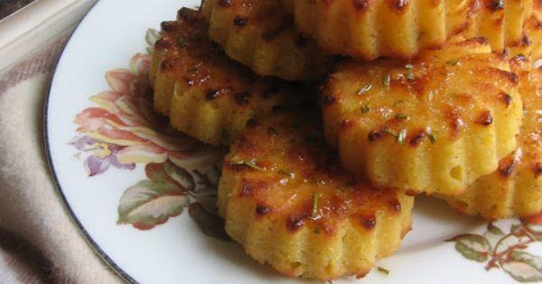 Mini Rosemary -Lemon Polenta Cake   Recipes   Pinterest   Polenta ...