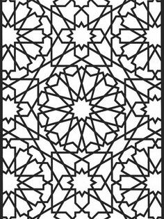 رسم زخارف هندسية