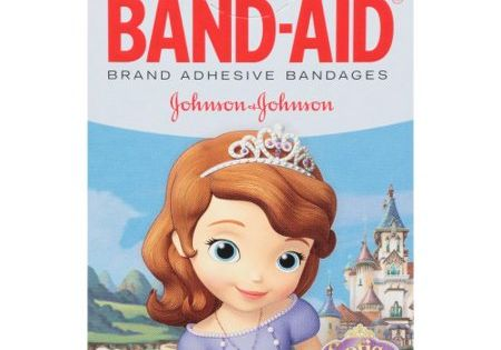 Band Aid Brand Adhesive Bandages Sofia The First 20 Ct Band Aid Bandage Disney Junior
