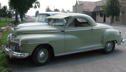 Clic 1947 Dodge Business Coupe For