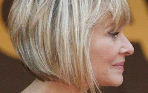 20 Bob Haircuts For Older Women