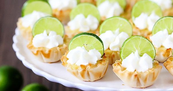 Key Lime Tartlets | Recipe | Coins, Juice plus and Key lime pie