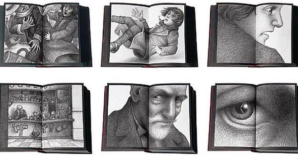 Four Inventive Children S Books Hugo Cabret Favorite Childrens Book Children S Book Illustration