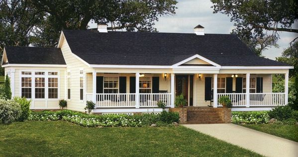 Single story ranch style homes with wrap around porch for New construction ranch style homes in illinois