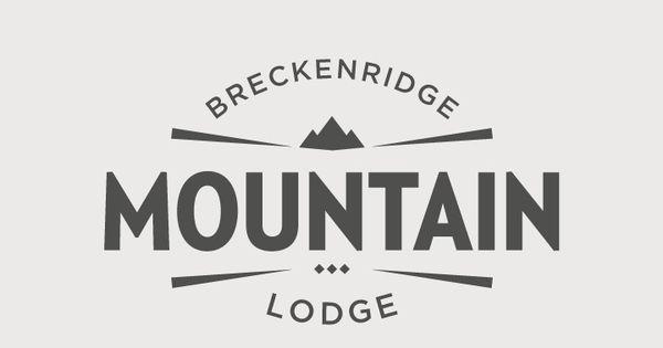 Breckenridge ski resort logo explorations via for Design skihotel