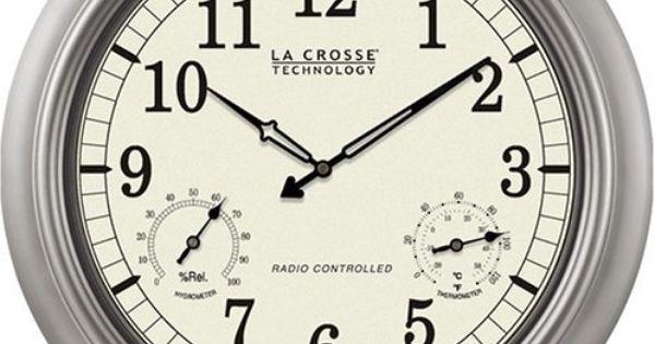 La Crosse Technology Wt 3181pl 18 Inch Atomic Outdoor